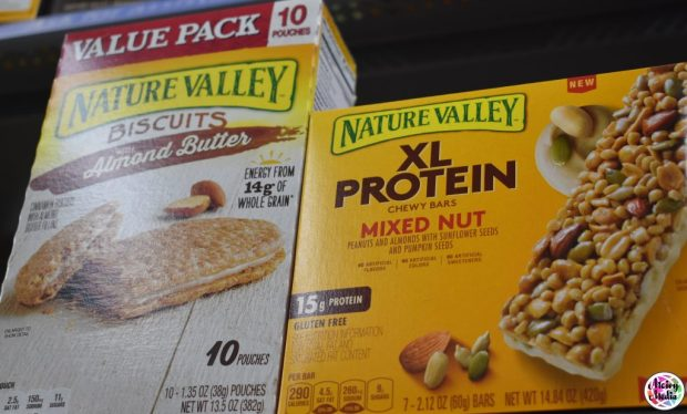 """Nature Valley XL Bar"" ""Naturalbabydol"" ""Active Kids"" ""Travel"" Nature Valley"" ""Sweet & Salty"" ""Sports"""