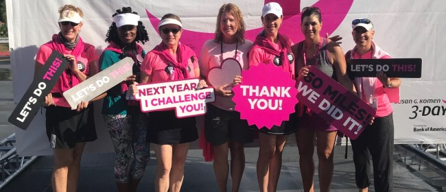 Why the Susan G. Komen 3-Day Matters?