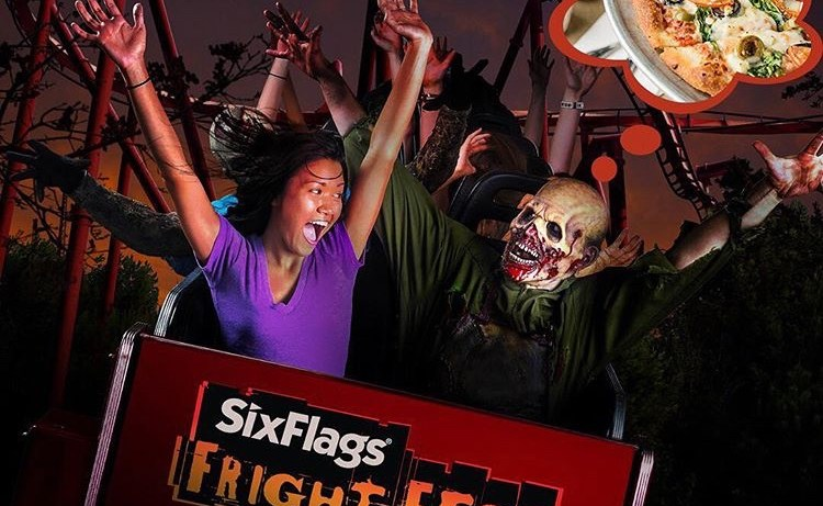 six flags six flags fright night halloween spooky