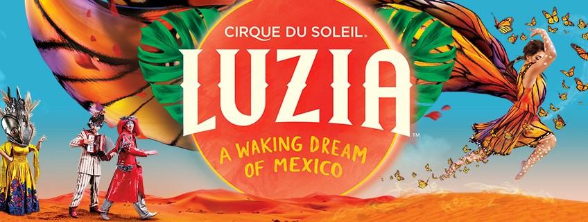 """Cirque du Soleil's LUZIA"" ""LUZIA"" ""Mexico"" ""Naturalbabydol"""