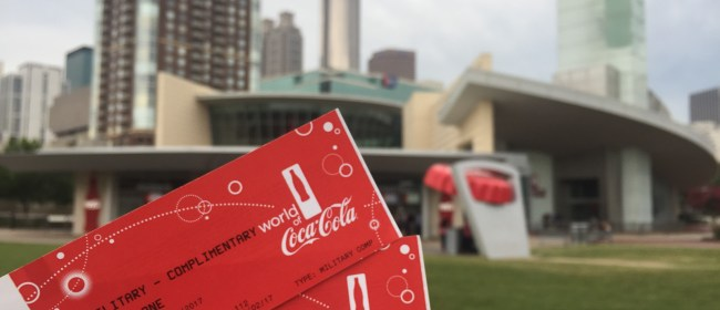 World of Coca-Cola Veterans Day Offers & Events- Atlanta