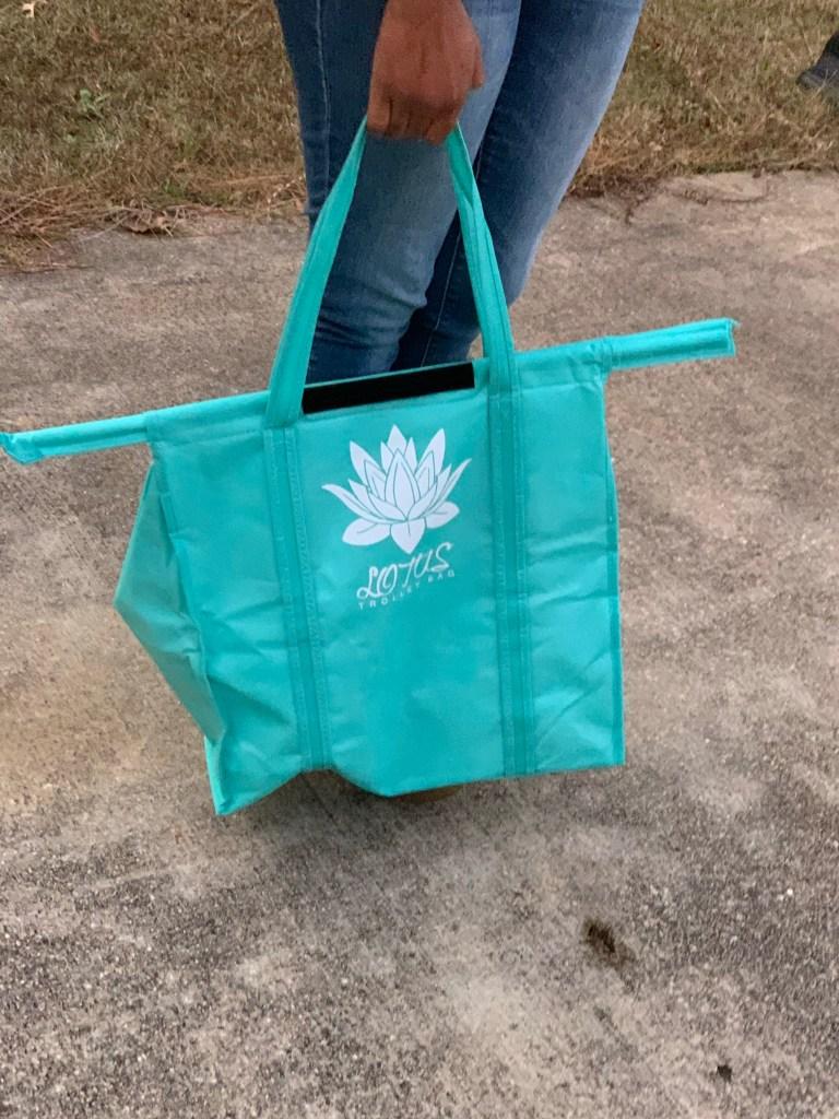 Eco Friendly Lotus Trolley Bags