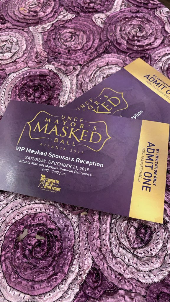 36th Annual UNCF Mayors Masked Ball
