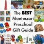 The Best Montessori Preschool Gift Guide Natural Beach