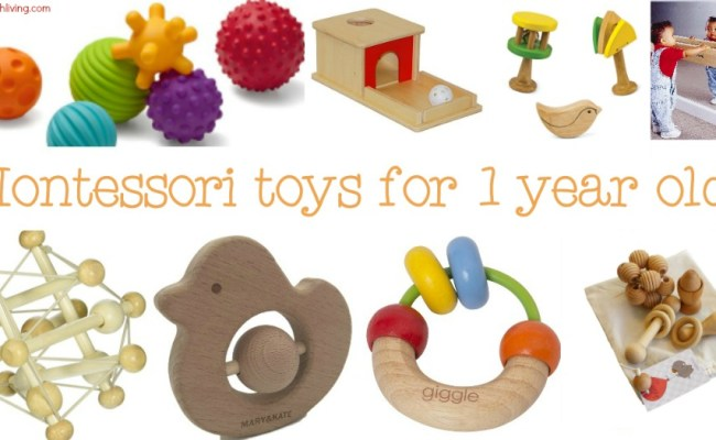 The Best Montessori Toys For 1 Year Olds Natural Beach