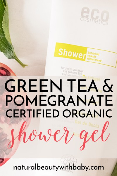 A value for money certified organic shower gel with green tea and pomegranate from Eco Cosmetics. Check out my full review!