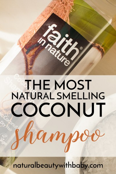 Faith in Nature Coconut Shampoo has a beautiful coconut fragrance which is one of the most natural smelling I've come across. So gorgeous! Read my full review now.