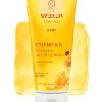 Weleda baby calendula shampoo body wash