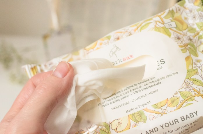 Storksak hand and face wipes