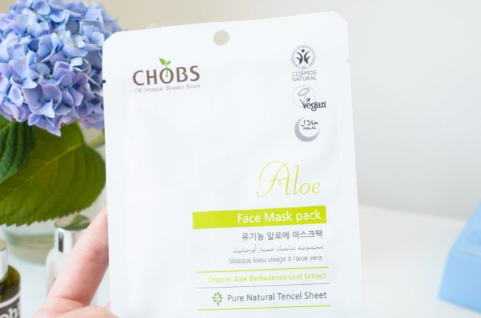 CHOBS Organic Aloe Sheet Mask