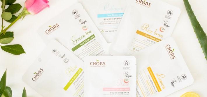 CHOBS Sheet Masks