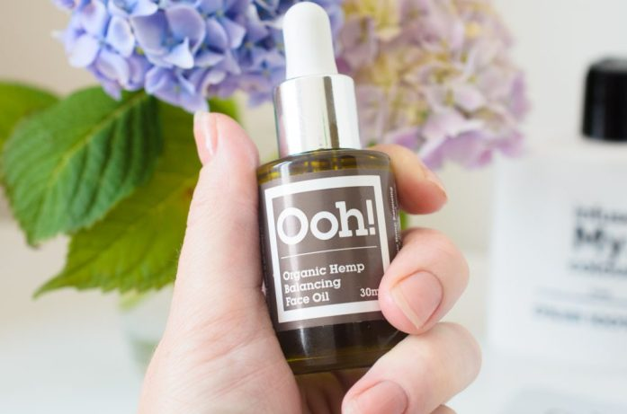 Ooh! Oils of Heaven Organic Hemp Balancing Face Oil