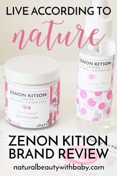 """""""Live according to nature"""" is the adage of natural cosmetic brand Zenon Kition London. Learn more about this gorgeous brand and their clean and natural skincare and hair products in my brand review."""