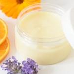 Breast milk lotion with calendula and orange