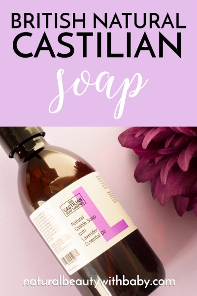 Read my full review of The Castilian Soap Company Castile Soap - a British rival to Dr. Bronner's that performs amazingly well.