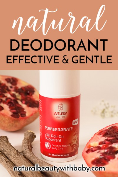 Read my review of Weleda Pomegranate Deodorant - a wonderfully refreshing and effective natural deodorant that is free from aluminium salts and non-irritating.