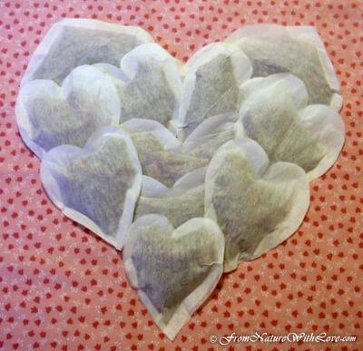 Valentine's Day Bath Tub Tea