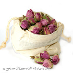 Dried Rose Petals, Rose Buds, & Rose Petal Powder