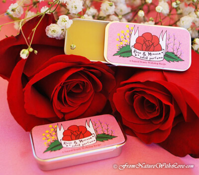 Rose & Mimosa Solid Perfume