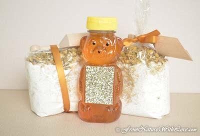 Honey Chamomile Milk Bath Kit
