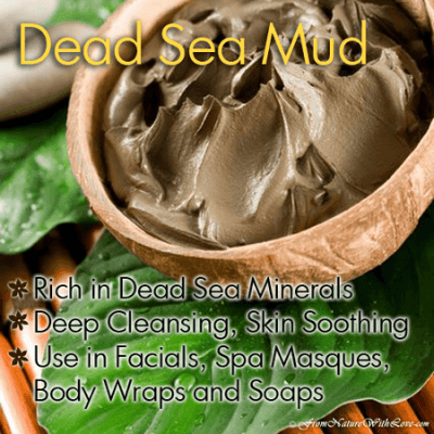 Ingredients For Your Natural Beauty Wish List: Dead Sea Mud