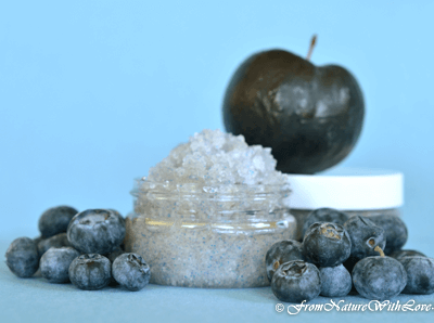 Blueberry & Plum Salt Scrub