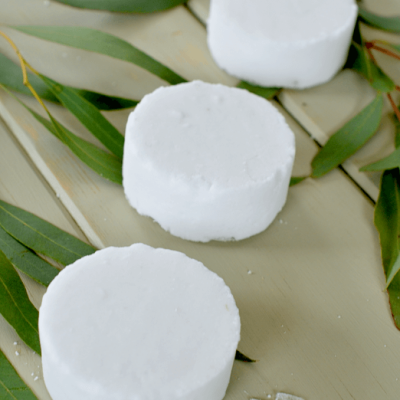 Mentholated Eucalyptus Shower Melts