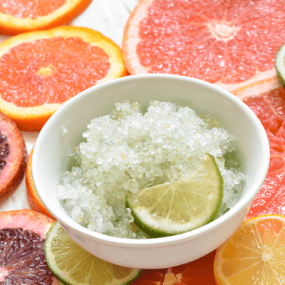 Citrus and Aloe Foot Scrub