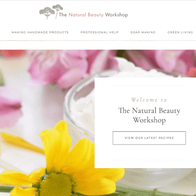 The Natural Beauty Workshop Wins the Bluehost Spotlight Awards