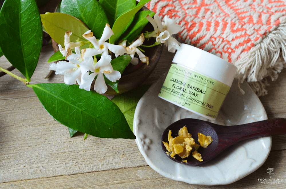 Jasmine and Shea Massage Balm - A fragrant semi-solid balm for massage