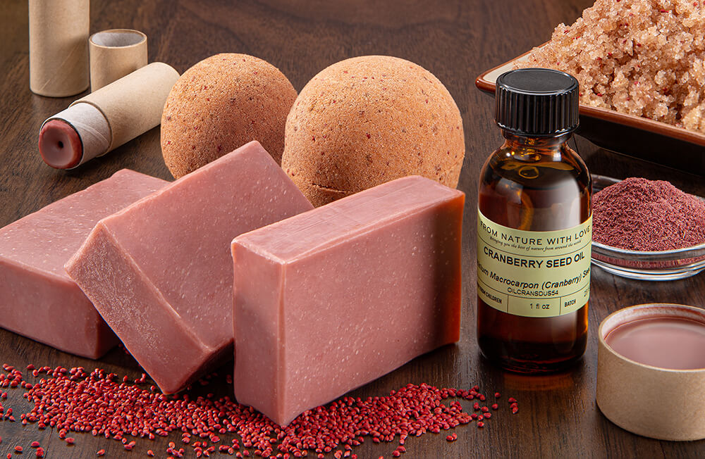 Cranberry Bath and Body Products