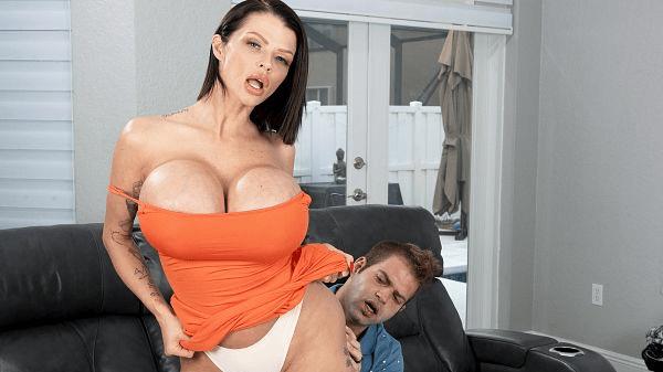 Joslyn James fake giant boobs MILF fucking XXX