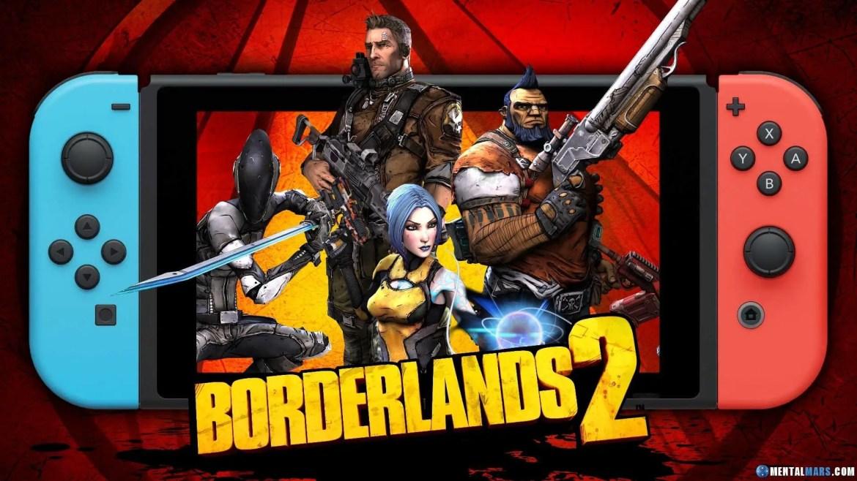 Gearbox rilascia un terzo teaser: Borderlands su Switch?