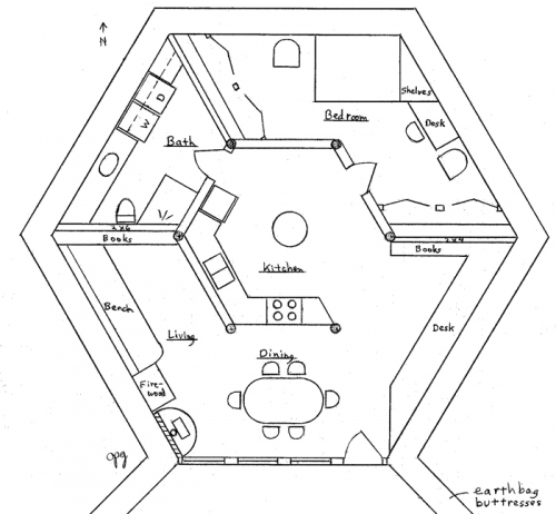 One Story Fourplex Floor Plans