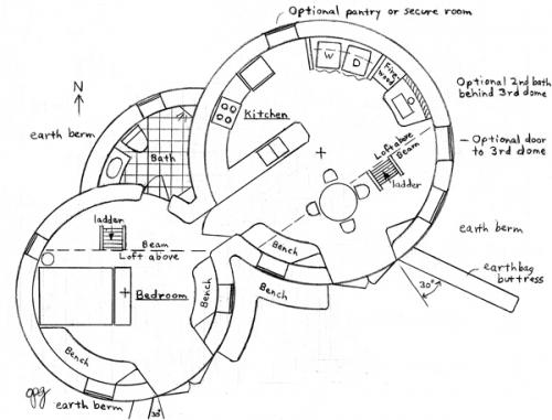 Enviro Earthbag Dome