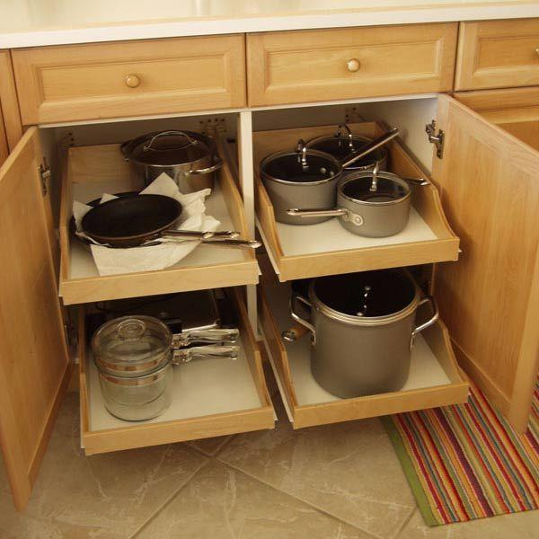 Kitchen Cabinet Organizers Add Ons
