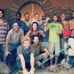 Natural building collective course group photo