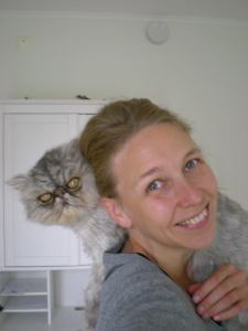 Gizmo was a rescue cat. He had been mistreated by a breeder, but with Camilla he had a long, very happy life.