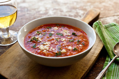 NYT winter tomato soup with bulgur