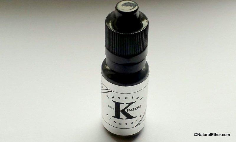 Silver label Full Spectrum Kratom Tincture