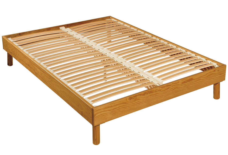 cadre de lit bois massif maison design