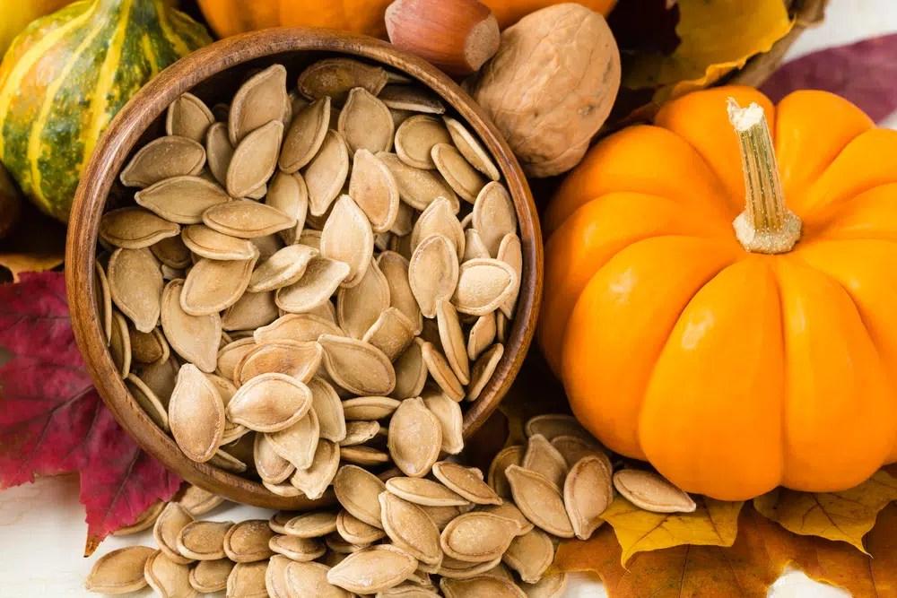 Benefícios para saúde das sementes de abóbora
