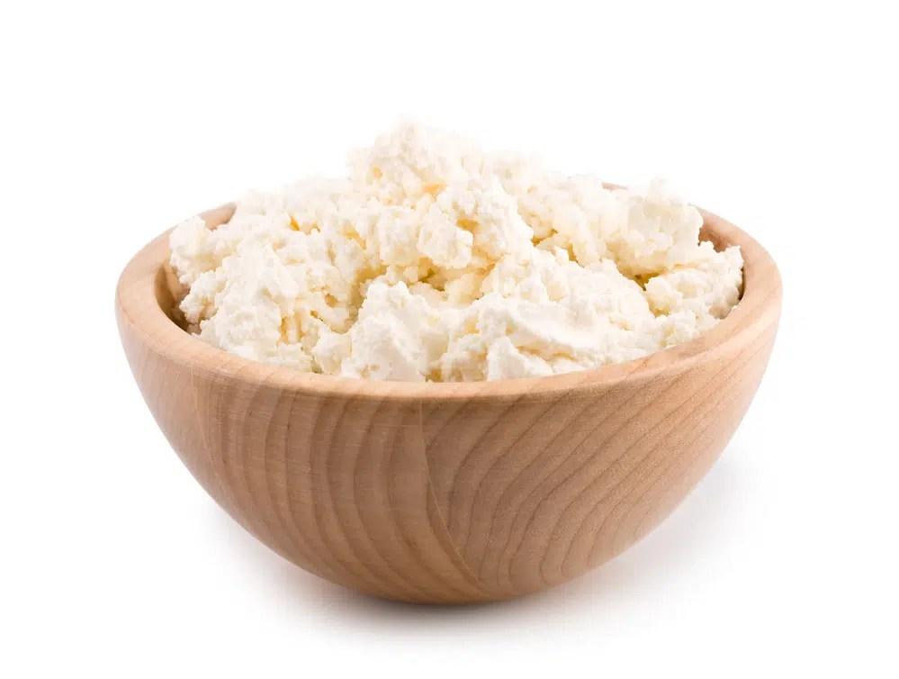Benefícios para saúde do queijo Cottage