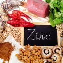 Foods Highest in Zinc. Healthy eating. Top view