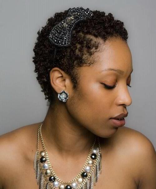 Short Hair Transitioning Natural Hairstyles