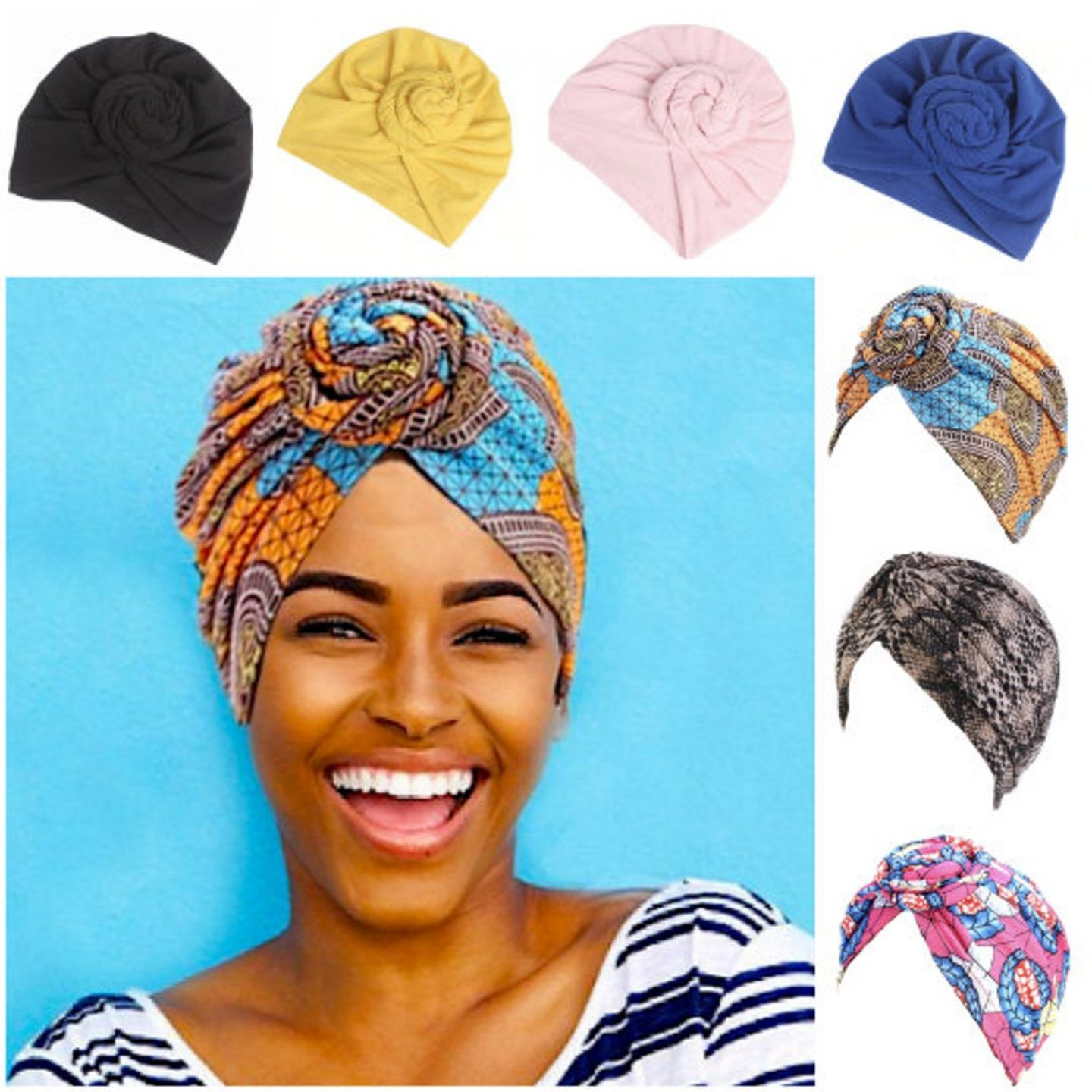 Click here to buy pre-tied turban for a beautiful look this spring and summer.
