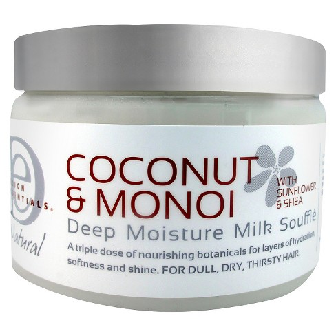 Click here to buy Design Essentials Deep Moisture Milk Souffle For Dull, Dry & Thirsty Hair