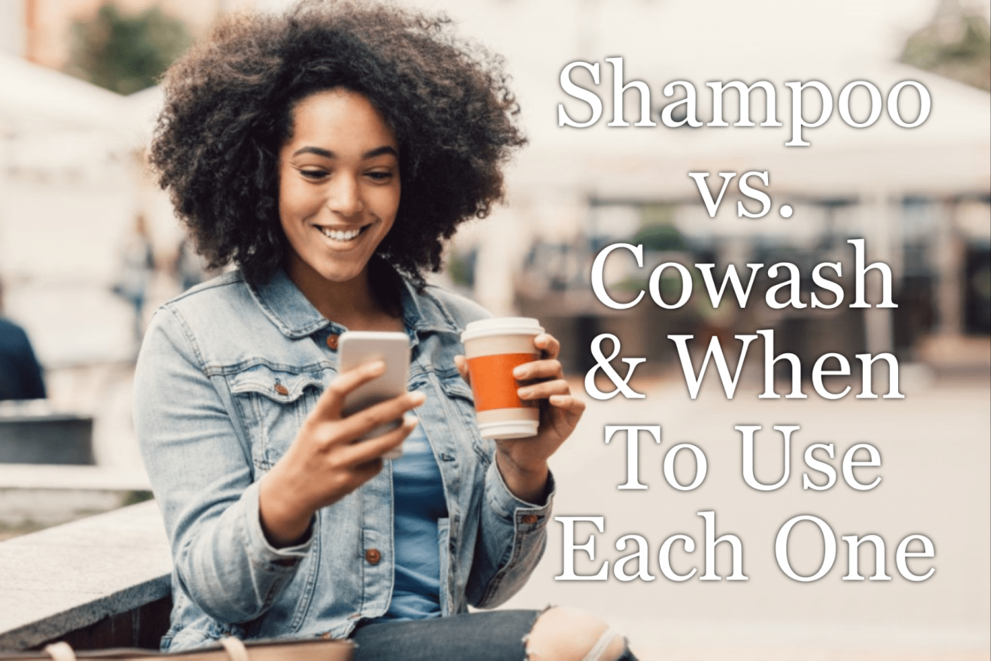 Shampoo vs. Cowash & When To Use Each One is a big issues in the natural hair community. We break them both down and explain.