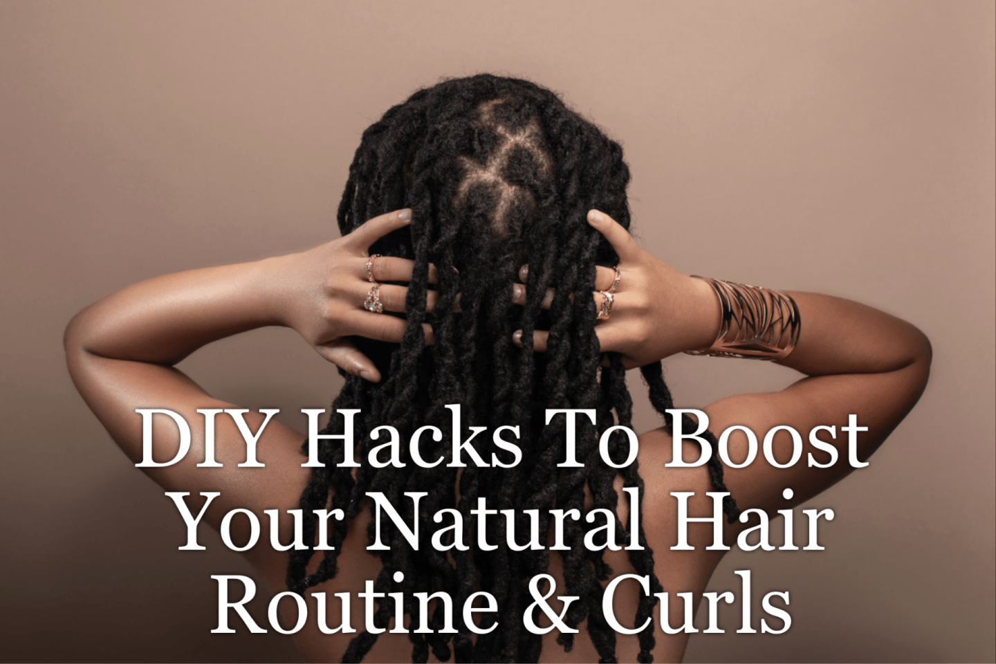 DIY hacks can be used on your natural hair and they don't have to have a ton of ingredients. Just check out our faves to make your hair great.