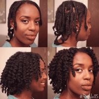 A Beautiful Braid Out With Small Braids For You